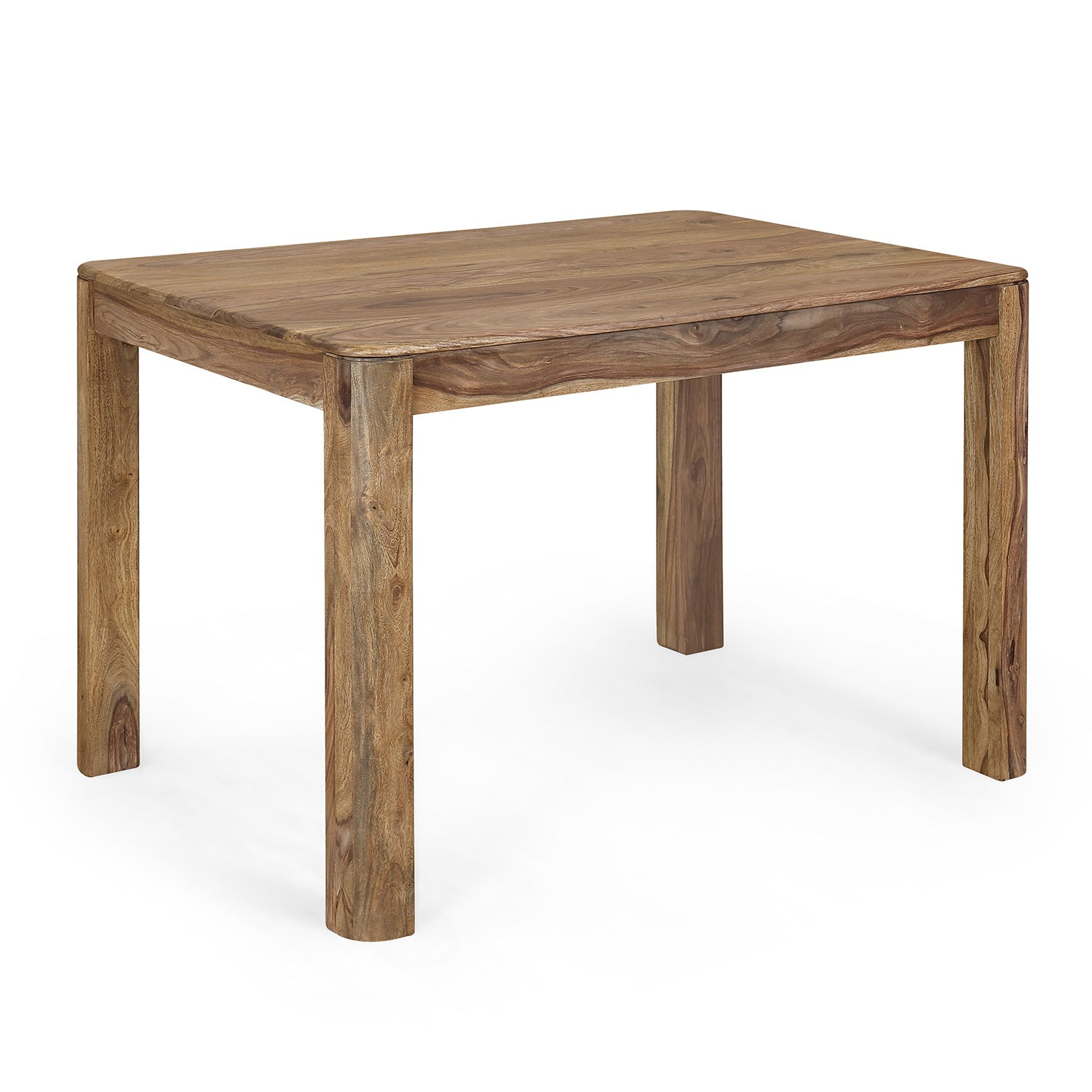 Miracle Four Seater Dining Table (Natural Walnut) - Nilkamal At-home @home