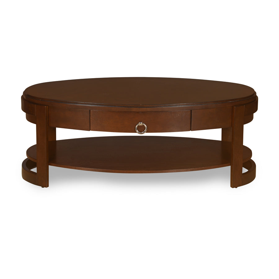 Miranda Center Table (Espresso)