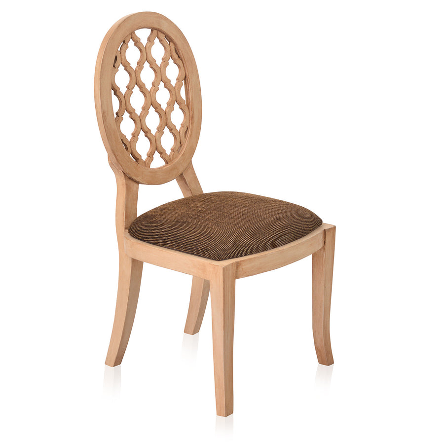 Miraya Dining Chair (Brown Glaze)