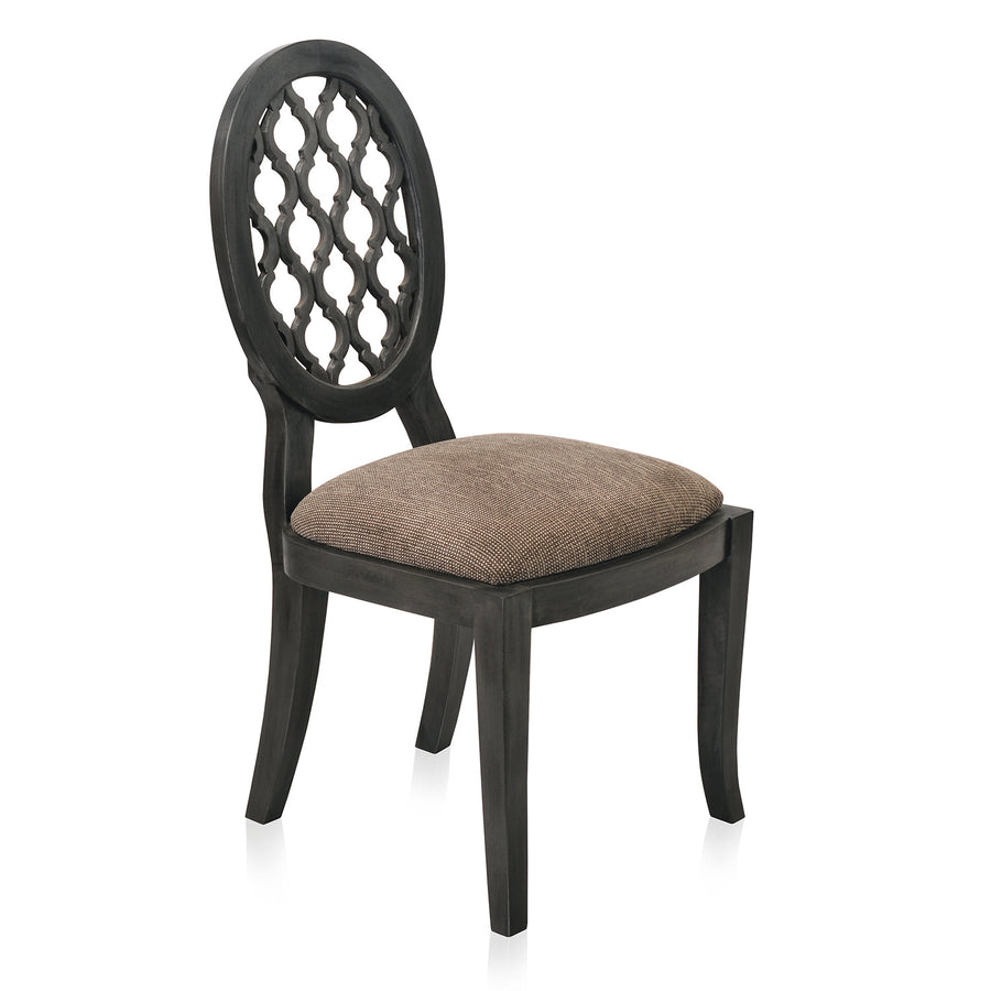 Miraya Dining Chair (Silver Grey)