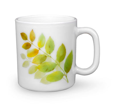 Autumn Shadow Set Of 2 220 ml Mug (Multicolor)