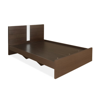 Natasha Queen Bed Without Storage (Dark Walnut)