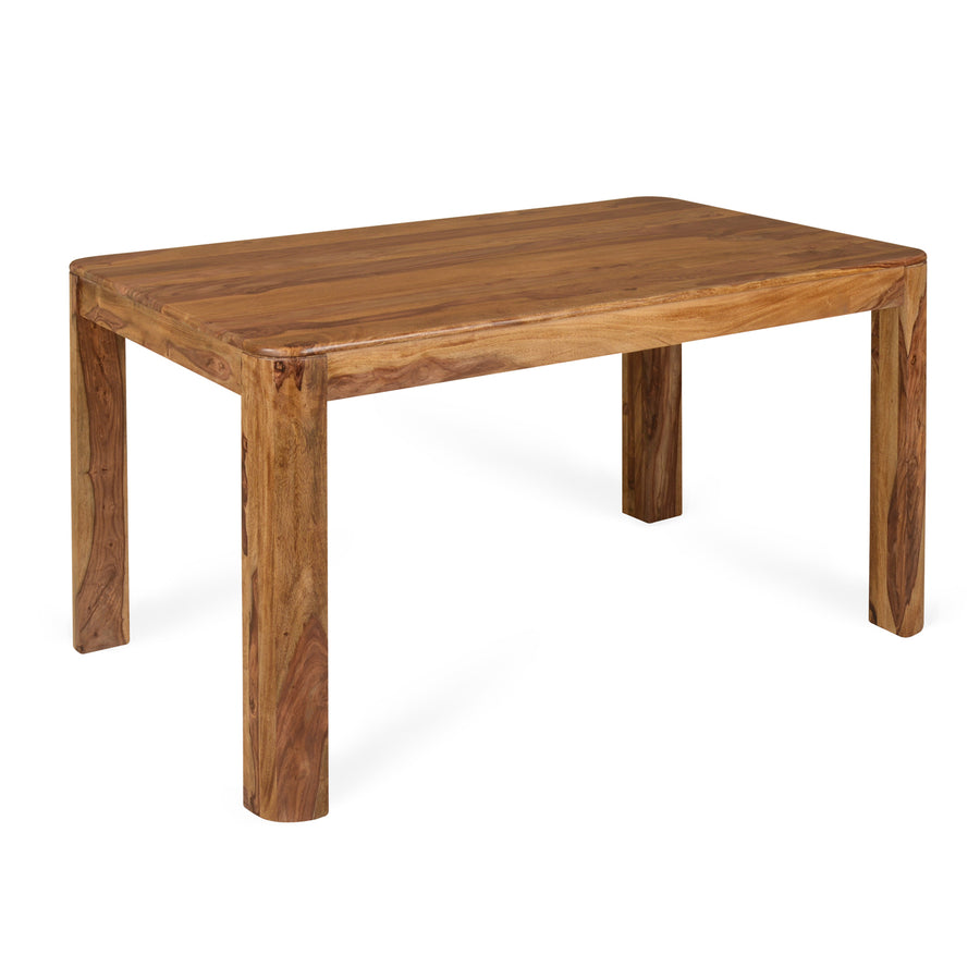 New Granada Six Seater Dining Table (Natural Walnut)