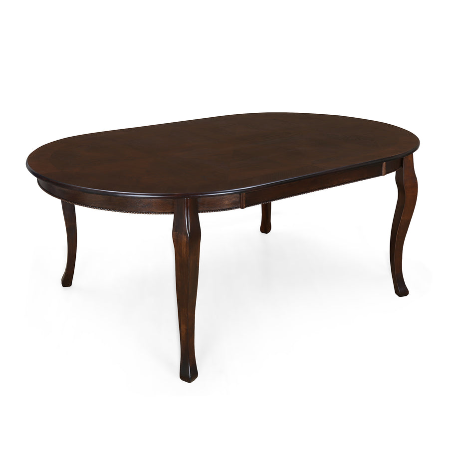 Newport Six Seater Dining Table (Cappucino)