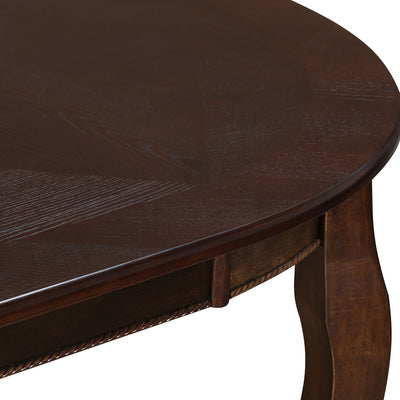 Newport Eight Seater Dining Table (Cappucino)
