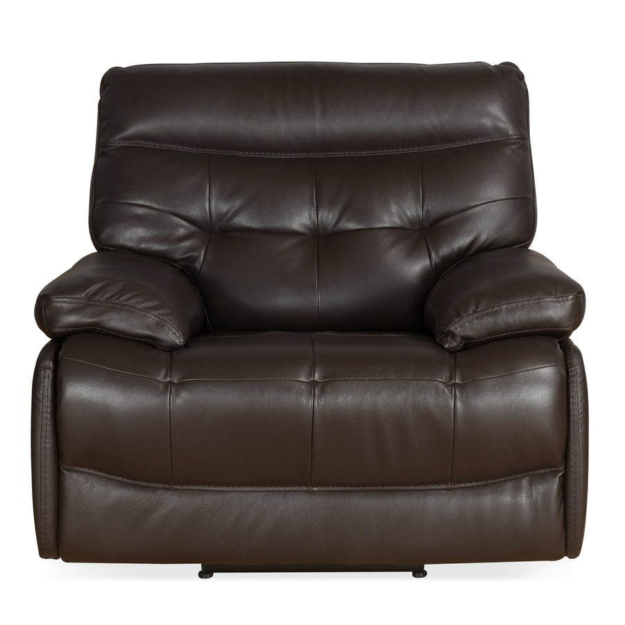 Nexa 1 Seater Sofa Rocker Recliner (Rich Brown)