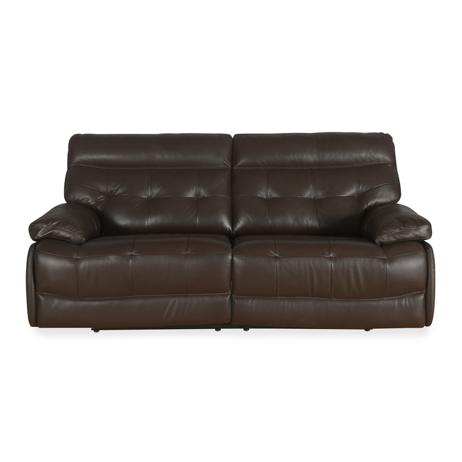 Nexa 3 Seater Sofa With Electric Recliner (Rich Brown)