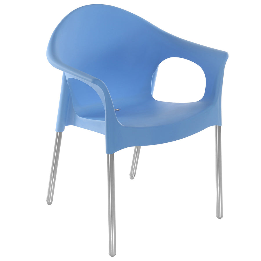 Nilkamal Novella 09 Plastic Chair (Blue)