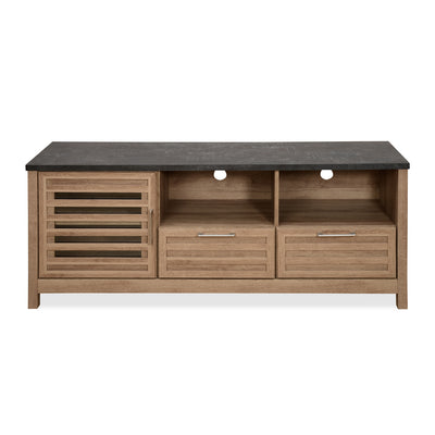 Octave Low Height Wall Unit (Pacific Oak)
