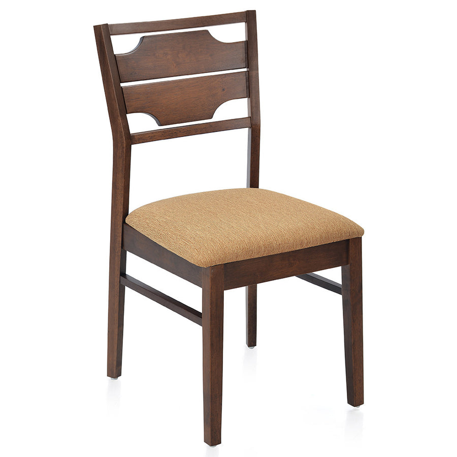 Olenna Dining Chair With Cushion (Walnut)