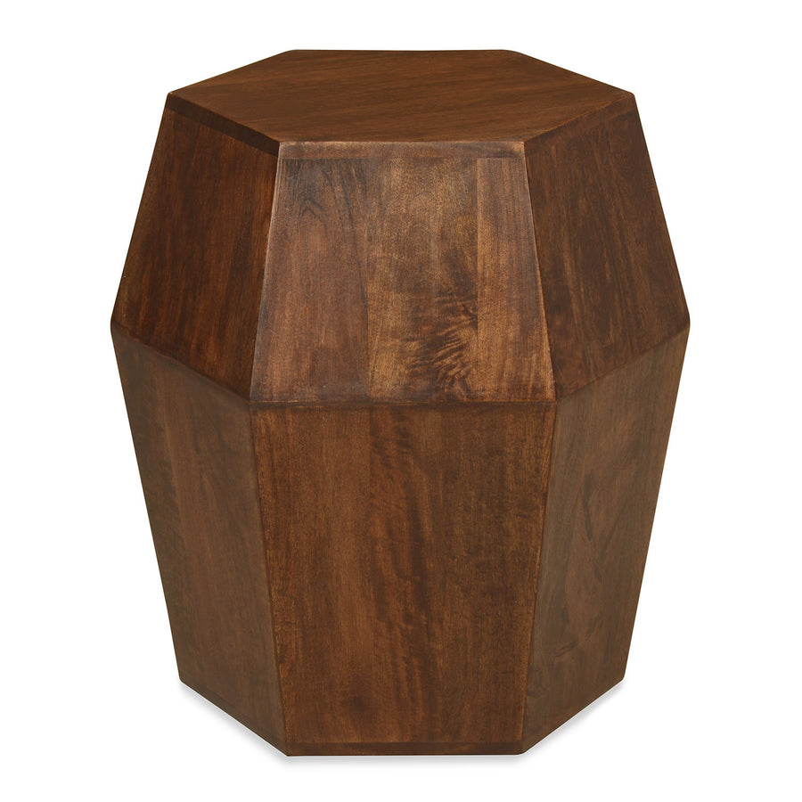 Orc Pyramid Stool ( Walnut )