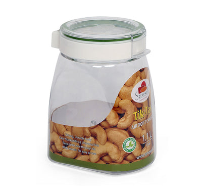 Tik Tak Oval Canister 1 Litre (Green)