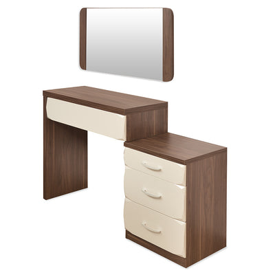 Ozone Dresser With Miror (Walnut)