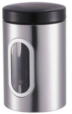 Tidy Home Canister 350 ml Stainless Steel (Silver)