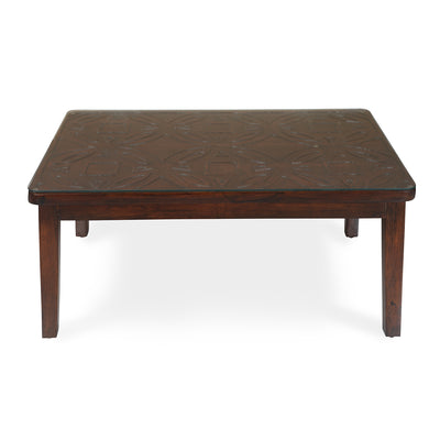 Paisley Center Table (Honey Walnut)
