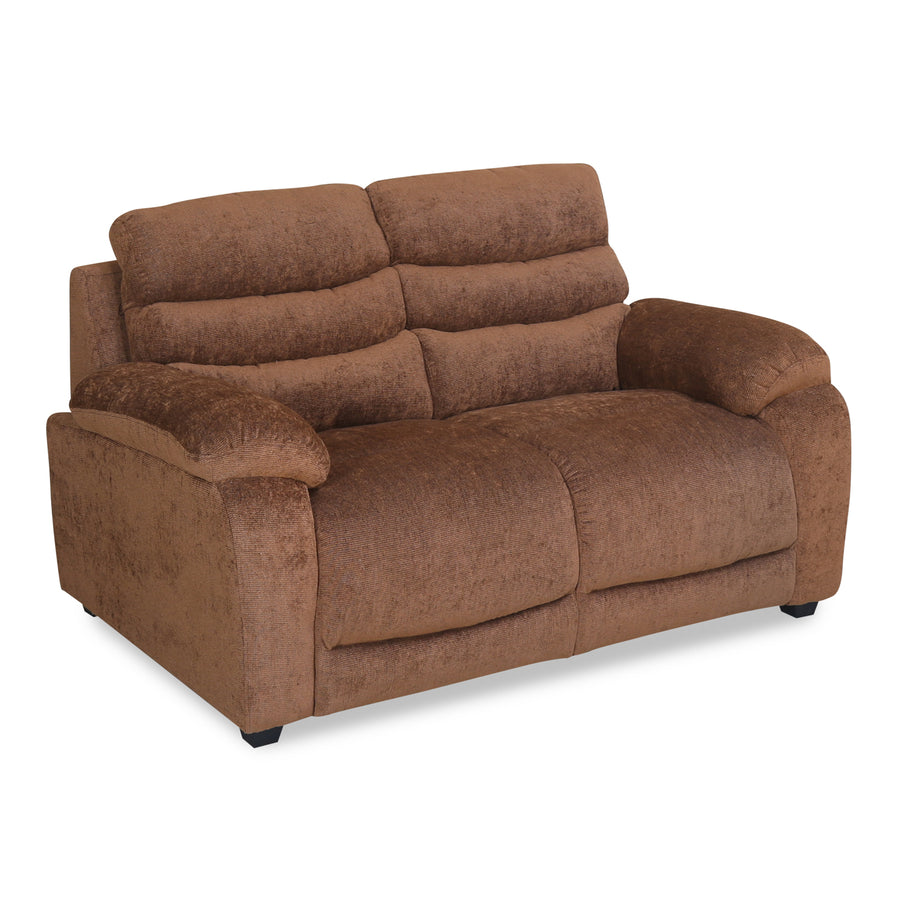 Perkins Two Seater Sofa (Hazel Brown)