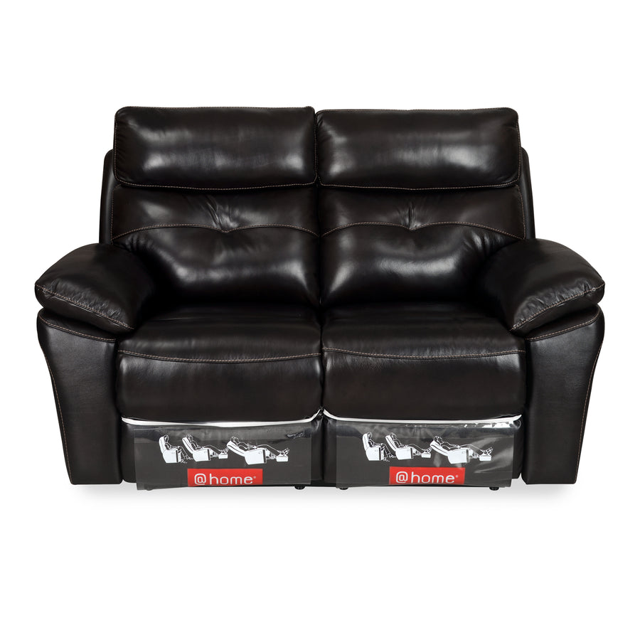 Persia 2 Seater Sofa with 2 Electric Recliner (Rich Chocolate)