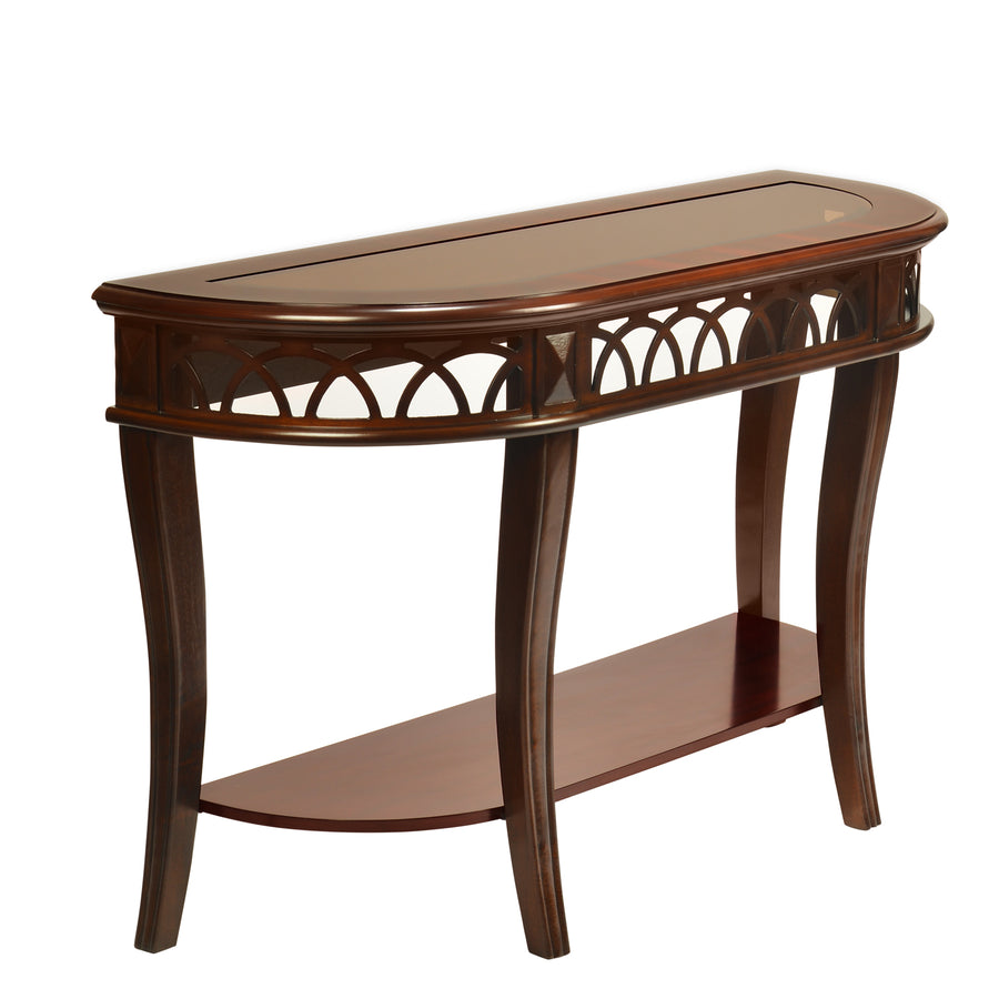 Pisces Console Table (Classic Walnut)