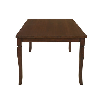 Polita Six Seater Dining Table (Espresso)