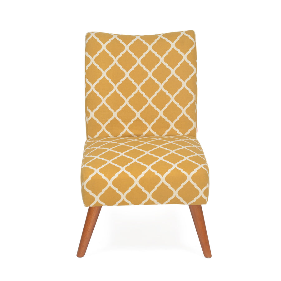 Prevo Arm Chair (Mustard)