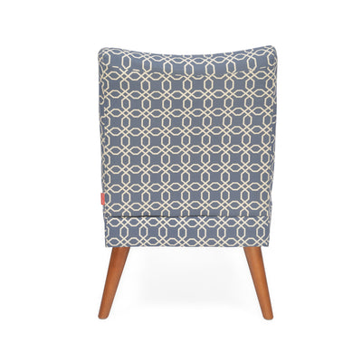 Prevo Arm Chair (Royal Blue)