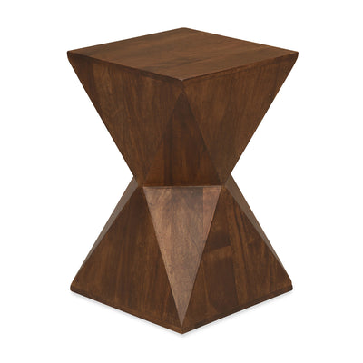 Prism Stool (Walnut)