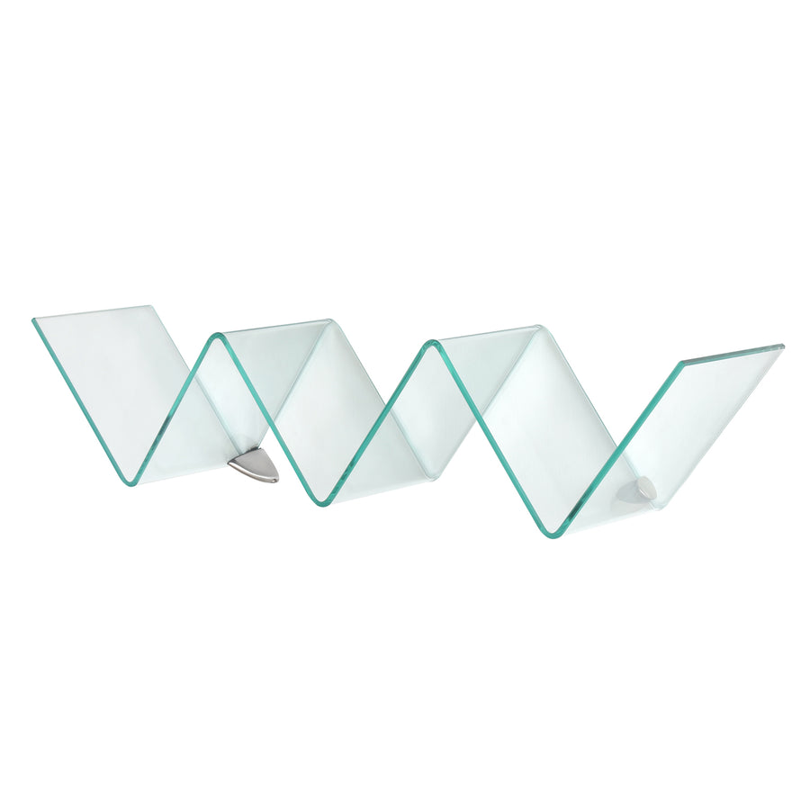 Pure Glass Wall Shelf (Clear)