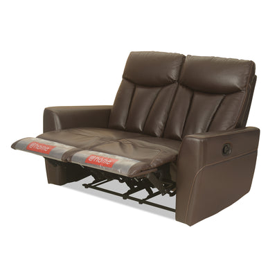 Ranger 2 Seater Sofa with 2 Manual Recliner (Dark Expresso)