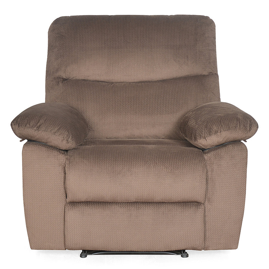 Rays 1 Seater Manual Recliner ( brown)