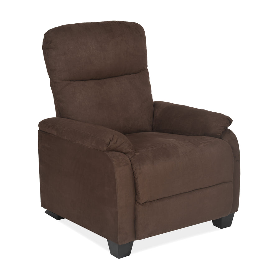 Rheus One Seater Sofa (Dark Brown)