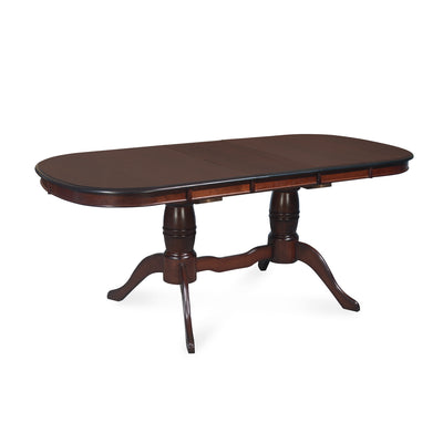 Richard Six Seater Extendable Dining Table ( Dark Walnut )