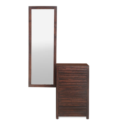 Rigato Dresser With Mirror (Walnut)