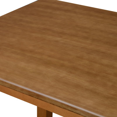 Roosey Six Seater Dining Table (Natural Walnut)