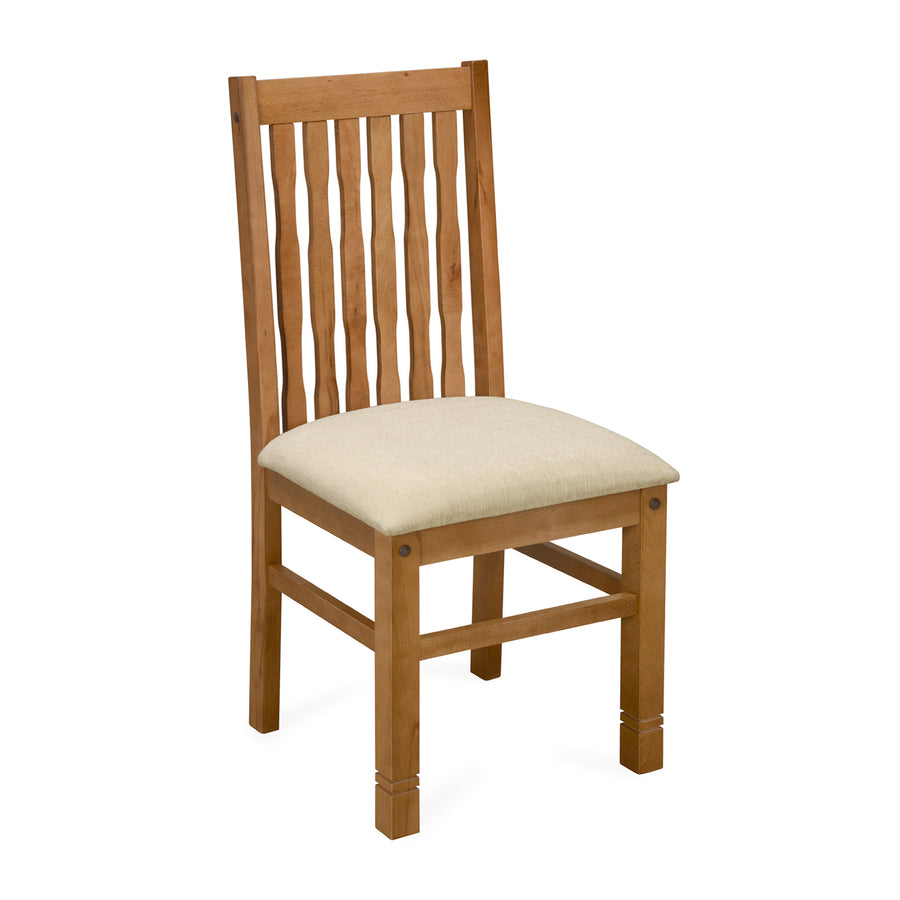 Roosey Dining Chair (Natural Walnut)
