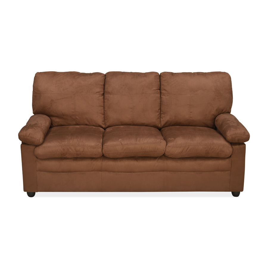 Sabrina 3 Seater Sofa (Brown)