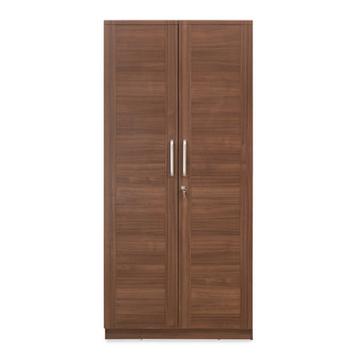 Sansa Two Door Wardrobe (Walnut)