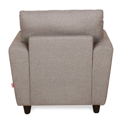 Saviour One Seater Sofa (Mocha Brown)
