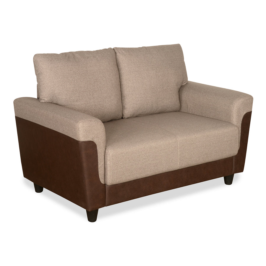 Saviour Two Seater Sofa (Mocha Brown)