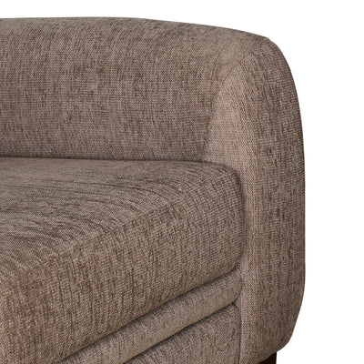 Selena Two Seater Sofa (Taupe Brown)