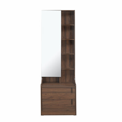 Serra Dresser With Mirror (Wenge)