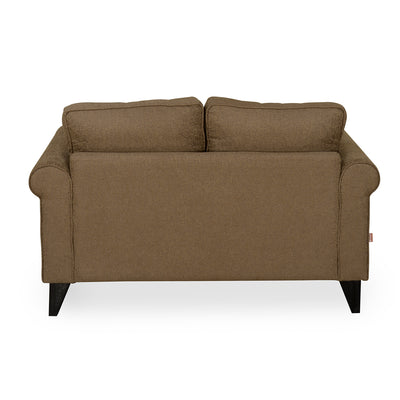 Shelby Two Seater Sofa (Merlot Brown)