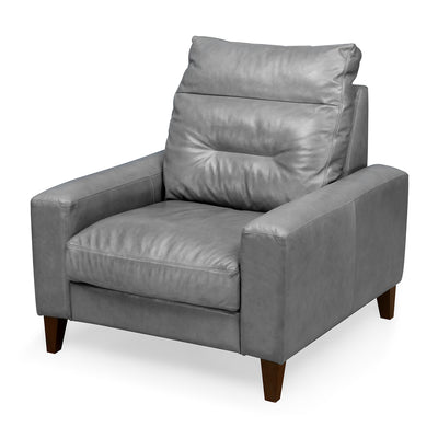 Silvia One Seater Sofa (Grey)