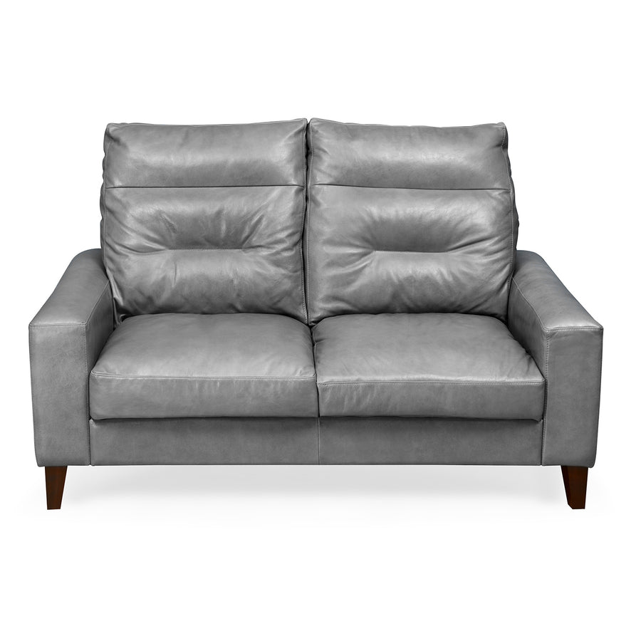 Silvia Two Seater Sofa (Grey)