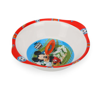 Mickey 320 ml Snack Bowl With Handle (Multicolor)