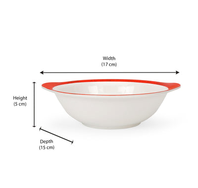 Spiderman 320 ml Snack Bowl With Handle (Multicolor)