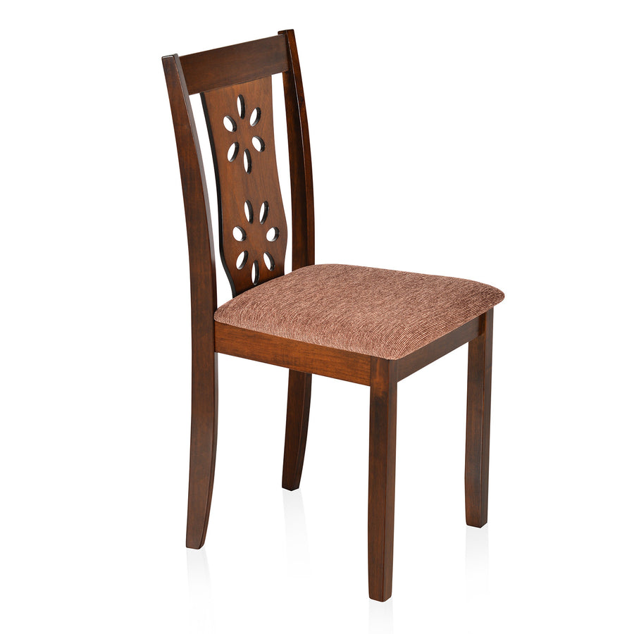 Sutlej Dining Chair with Cushion (Antique Cherry)