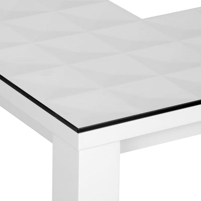 Theia High Gloss Center Table (White)