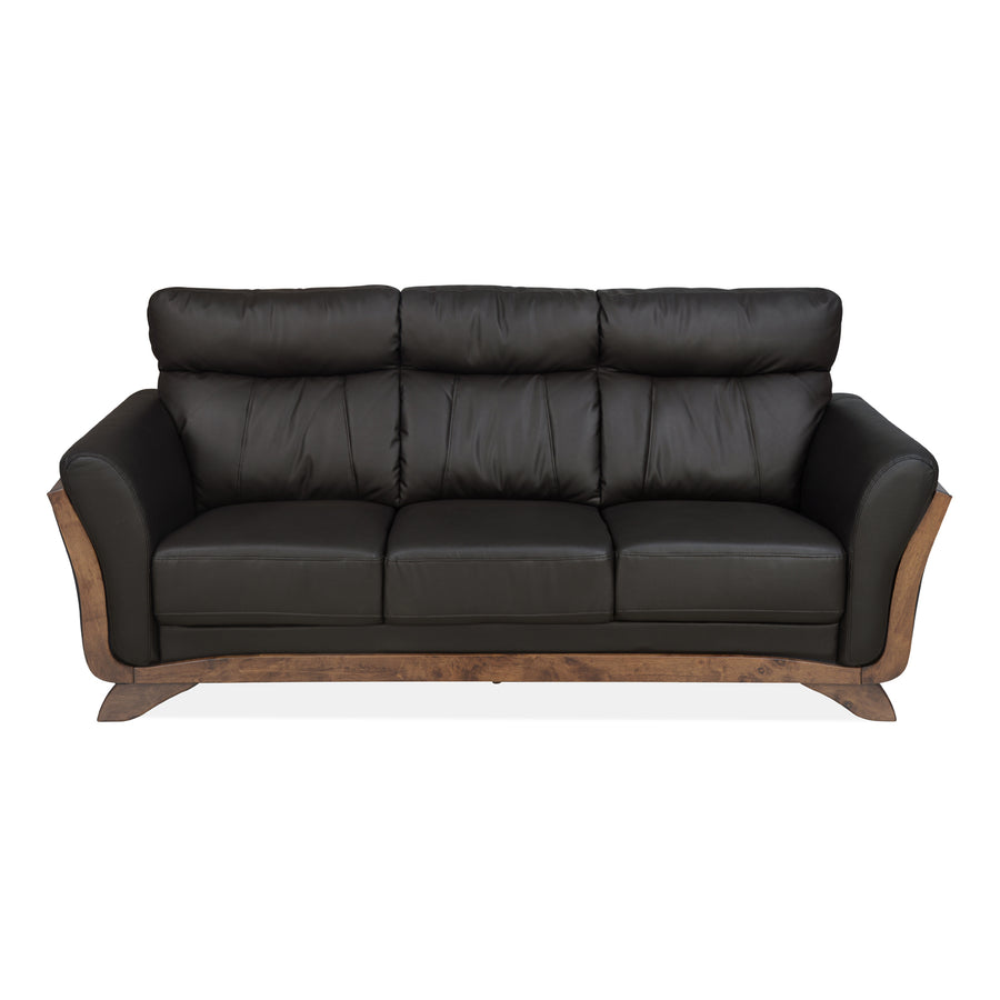 Theo Three Seater Sofa (Brown)