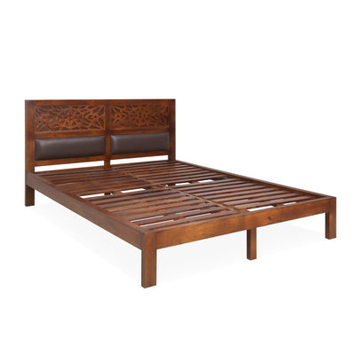 Trellis Queen Bed Without Storage (Cherry)