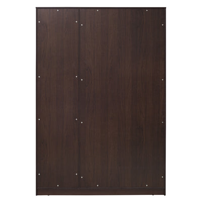 Triumph Three Door Wardrobe (Walnut)